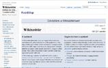 Wikiszótár | Többnyelvű szótár és magyar értelmezőszótár, szinonimaszótár, antonimaszótár és szólásgyűjtemény
