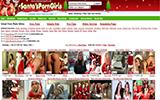 Santa's Porn Girls | Karácsonyi támájó pornó