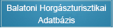 Balatoni Horgászturisztikai Adatbázis - balatonihal.hu